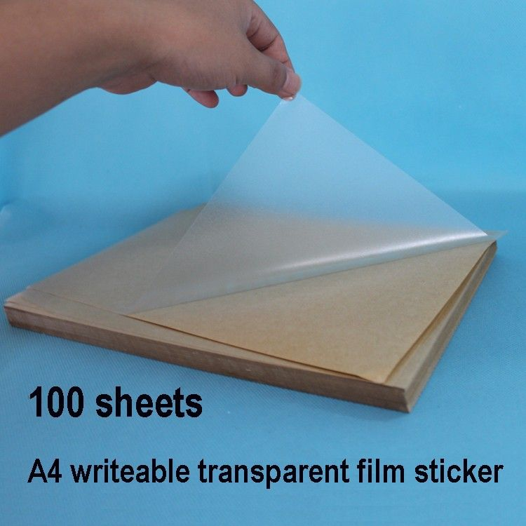 Clear Stickers Sheets