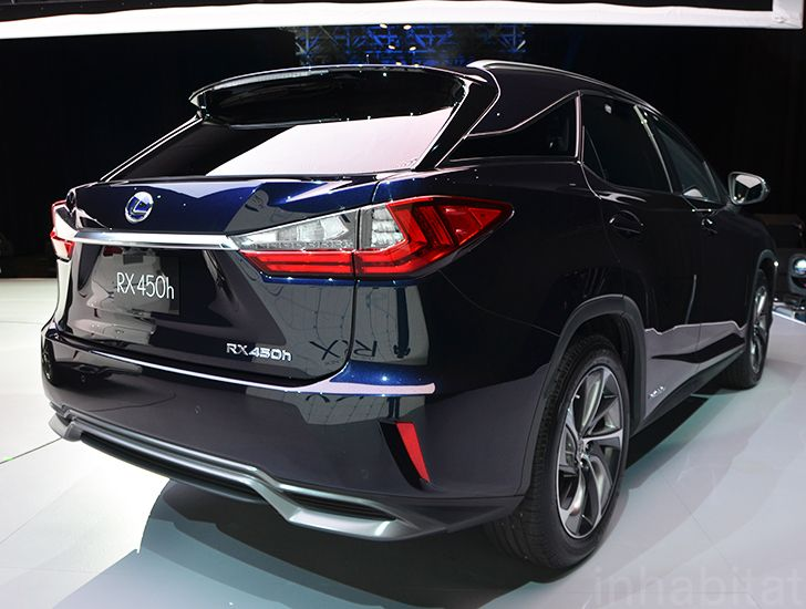 Lexus Has Taken The Wraps Off All New 2016 Rx 450h Hybrid Today At York Auto Show