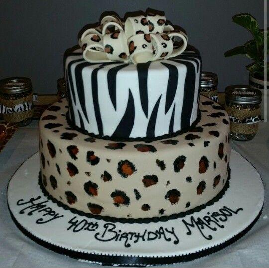 Marisols 40th birthdaycake by Dortoni Bakery in Long Island Cakes
