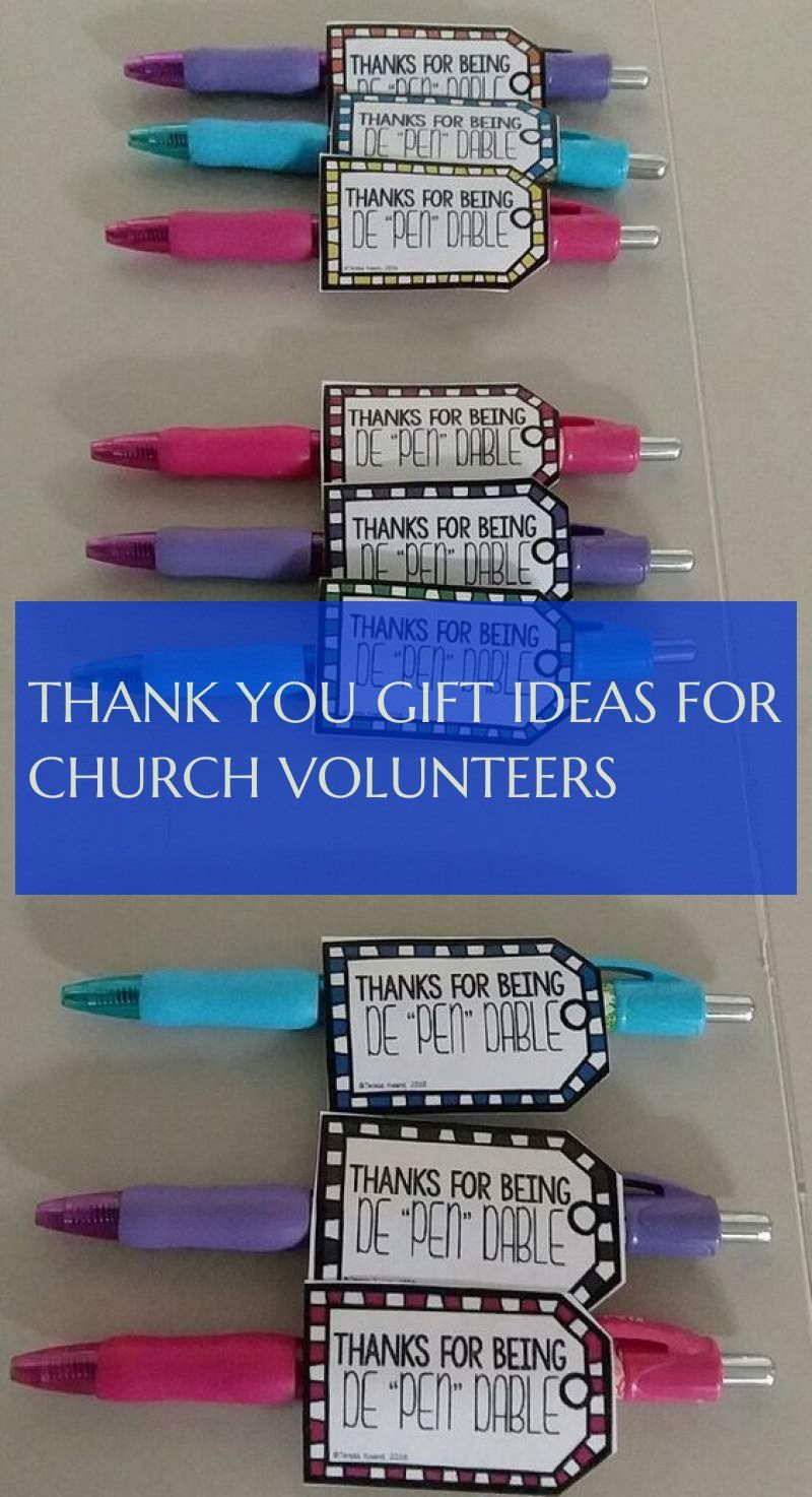 thank you gift ideas for church volunteers