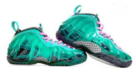 a85224de696 Air Foamposite One South Beach DoeRNBecher Custom Sneaker Unisex Shoe