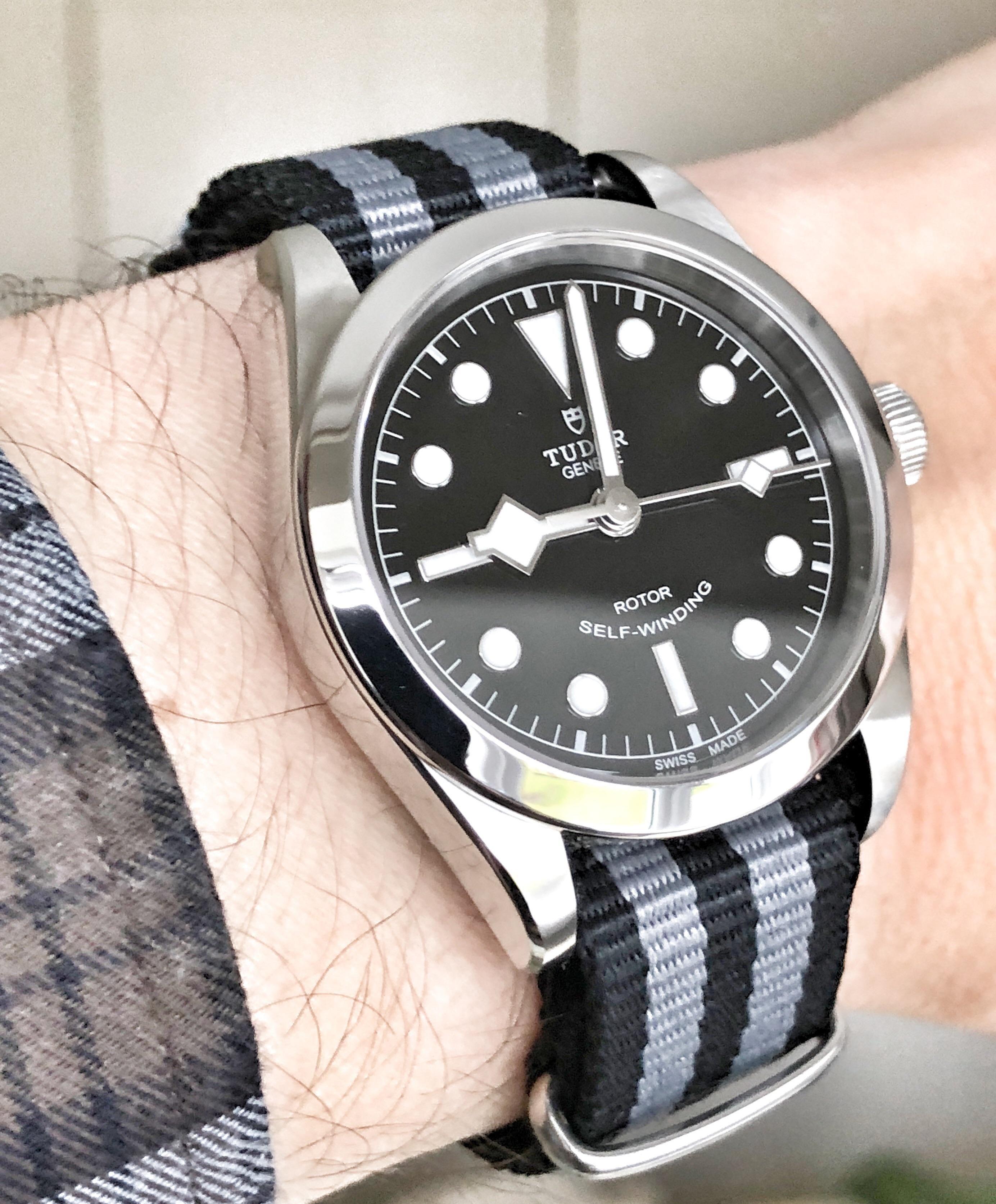 Watch strap tudor Tudor swiss