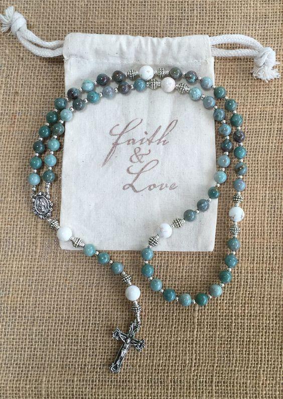 Rosary Beads #rosaryjewelry