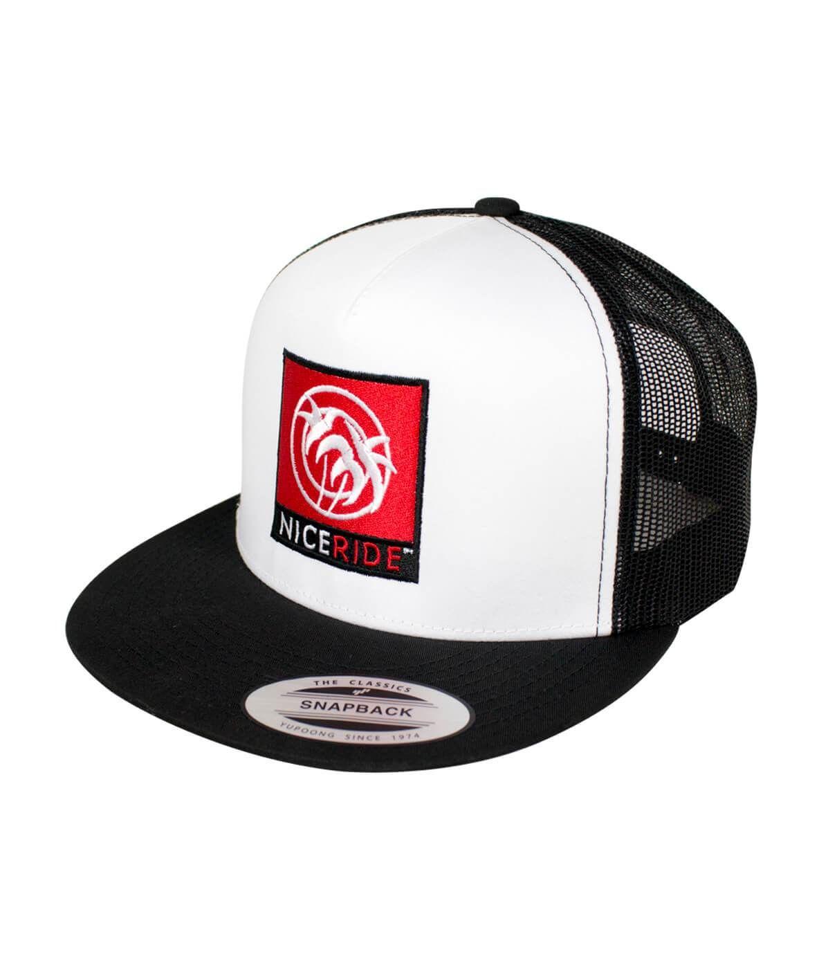 Resident Evil Umbrella Corporation Chest Logo Patch on a Black Baseball Cap Hat