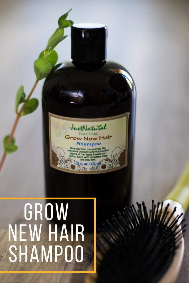 Just Natural Skin Care Hair Shampoo Shampoo New Hair