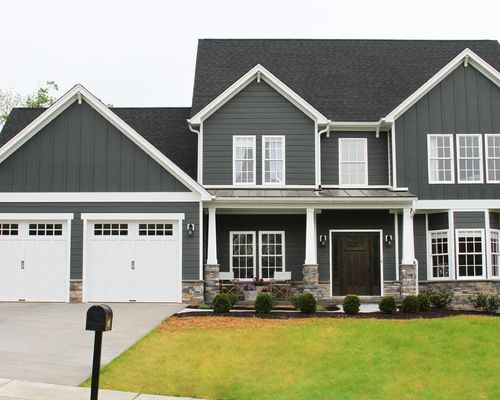 How To Find Discount Garage Doors Gray House Exterior Grey