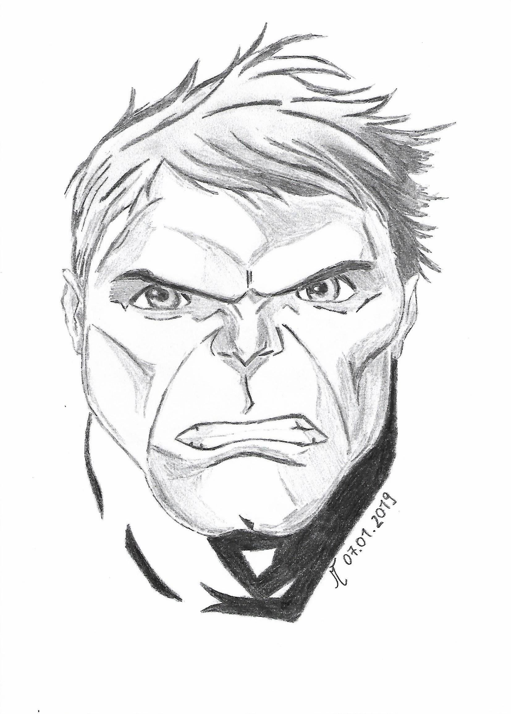 Hulk Face Drawing : drawing, Incredible, Pencil, Drawing, Drawings,, Sketch, Images,