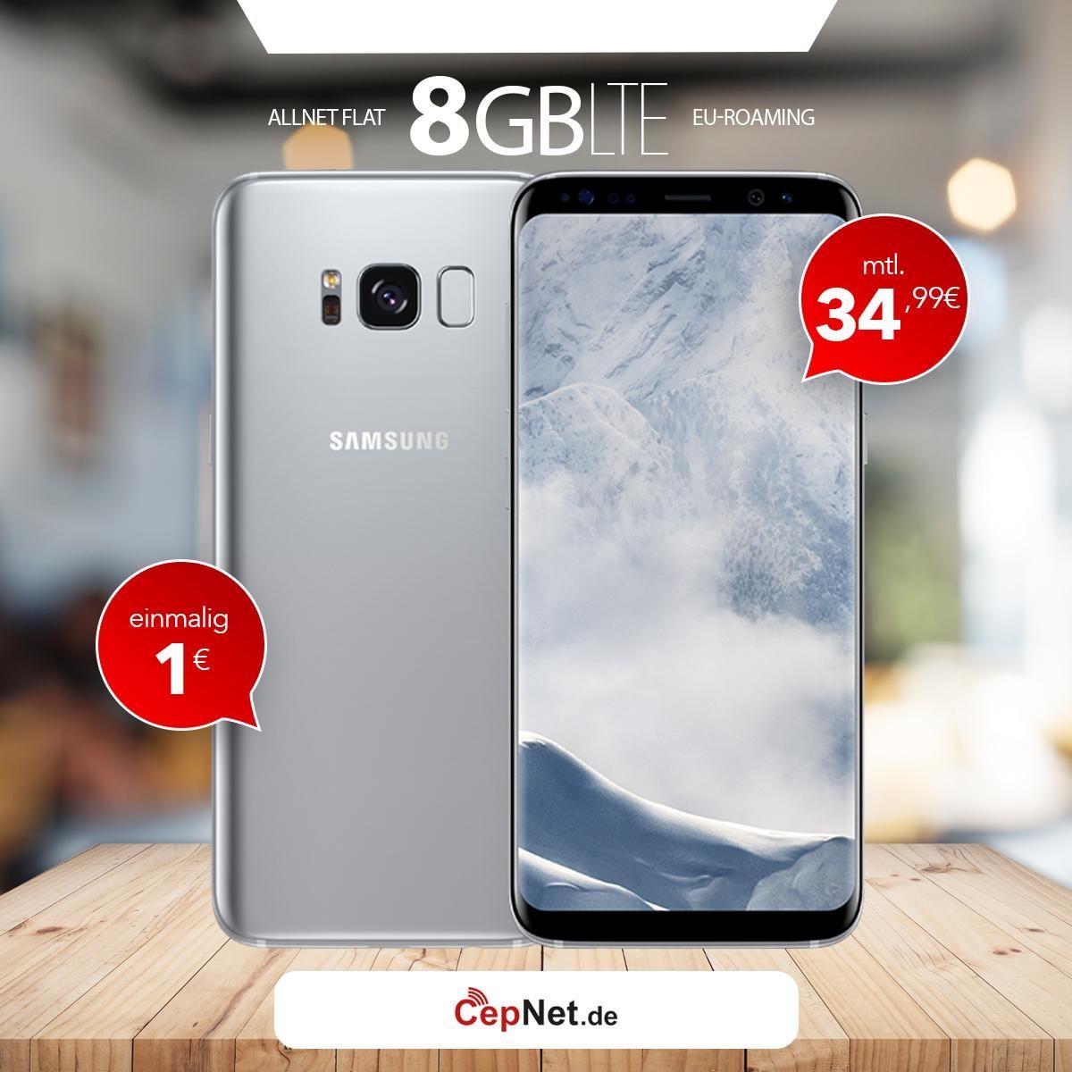 Galaxy S8 64gb Schwarz Mobilfunk Samsung Und Schwarz
