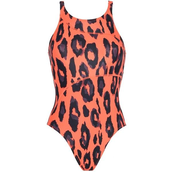2ff70961a39 Adidas by Stella McCartney Red Performance Swimsuit ($52) ❤ liked ...