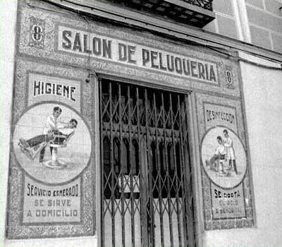 Fachadas de peluquer as fotos antiguas peluquerias - Fachadas de peluquerias ...