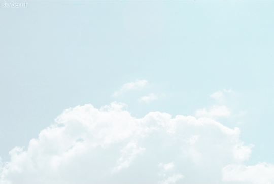 Skyberrii Final Fantasy Cloud Blue Aesthetic Clouds