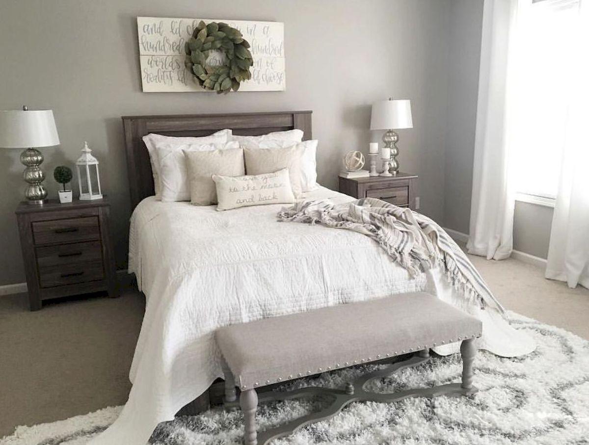 24 Gorgeous Farmhouse Master Bedroom Ideas Farmhouse Style Master Bedroom Small Master Bedroom Master Bedroom Colors