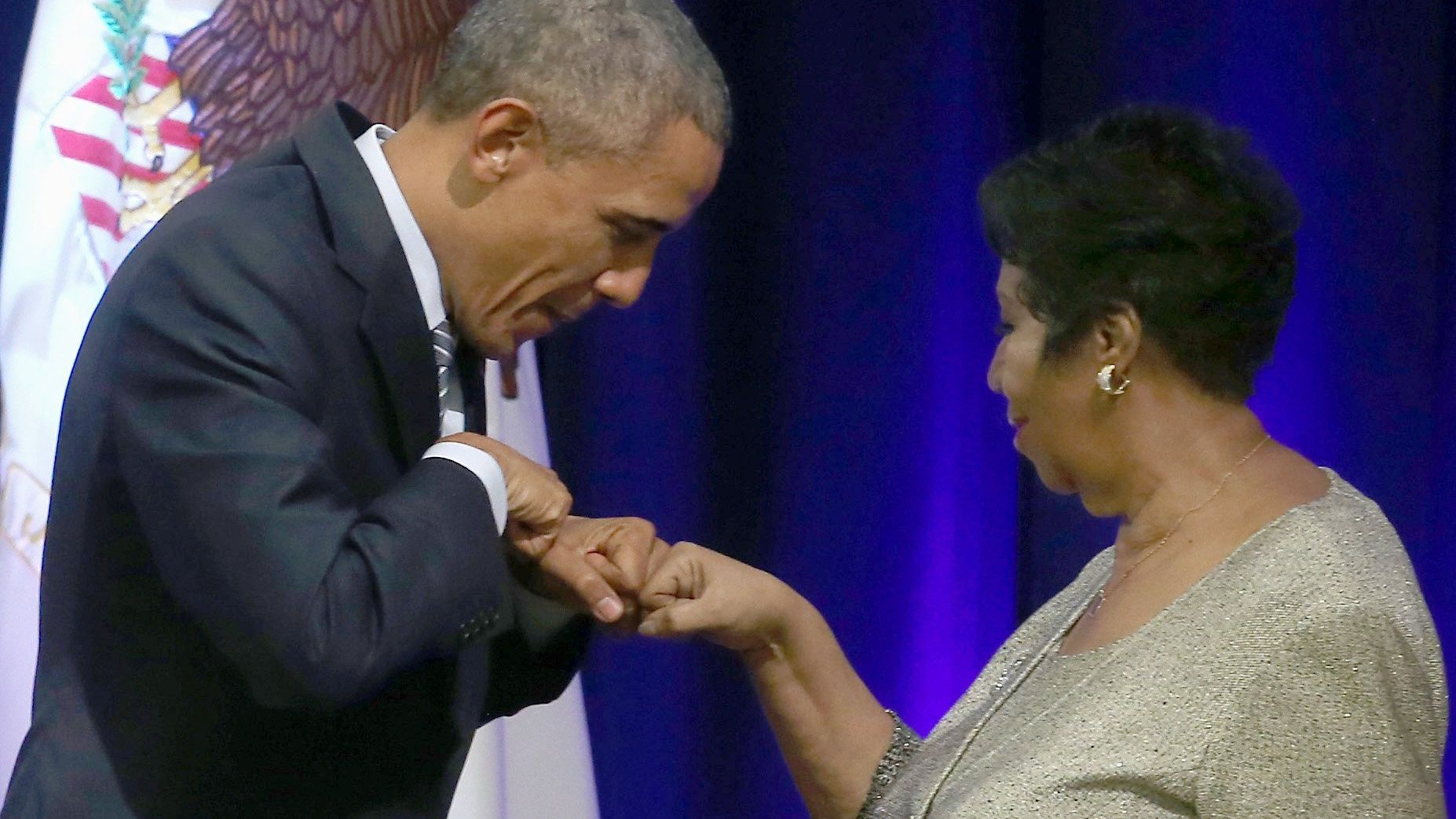 President Obama won't be at Aretha Franklin's funeral, but