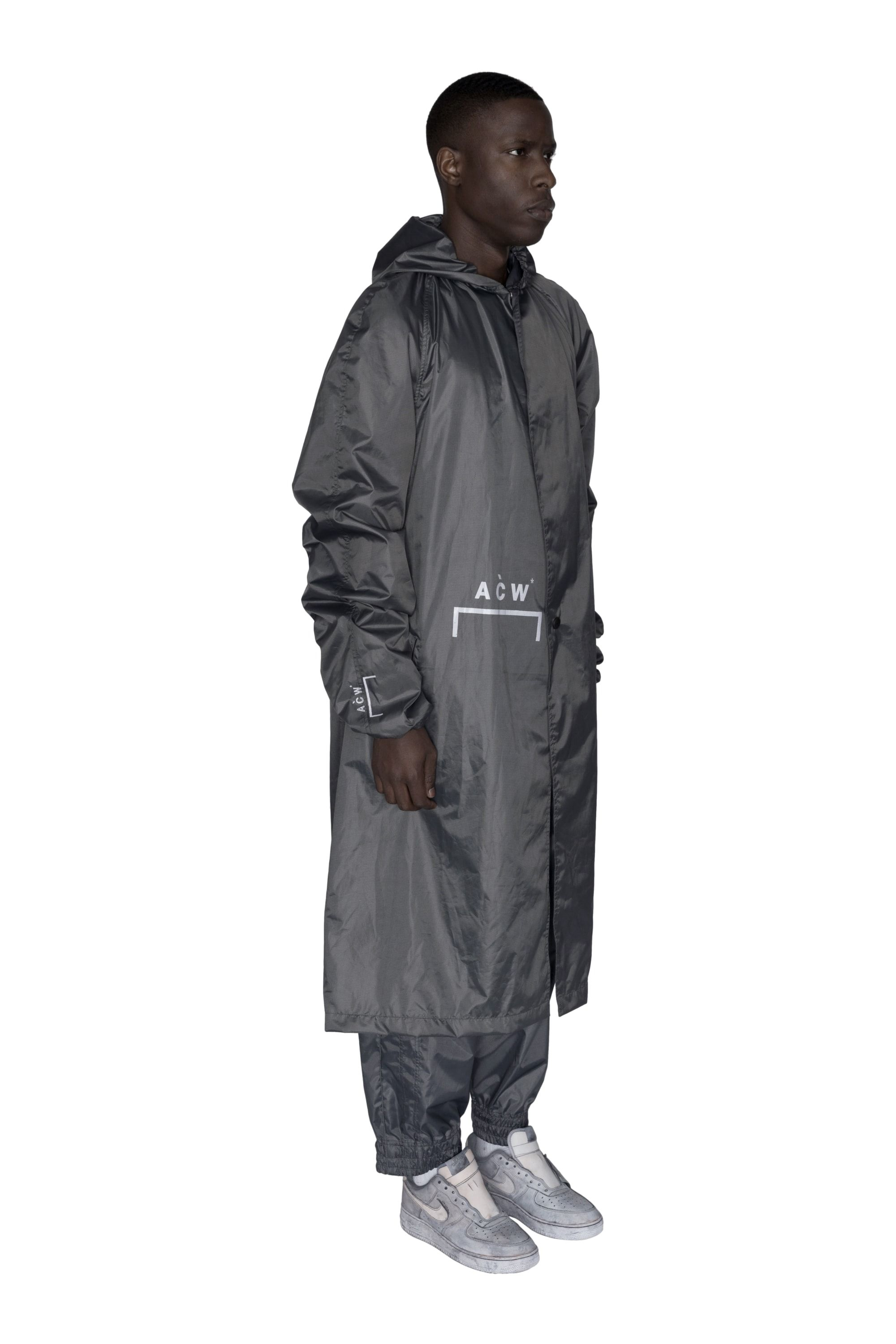 3024db79 ACW* HEAVYWEIGHT STORM COAT - SLATE | design | Coat, A cold wall ...