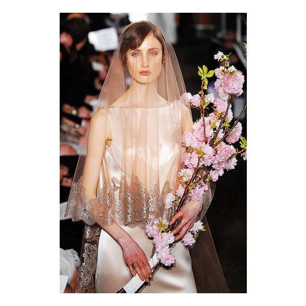 New York Bridal Market: Carolina Herrera Spring 2010 | Carolina... ❤ liked on Polyvore