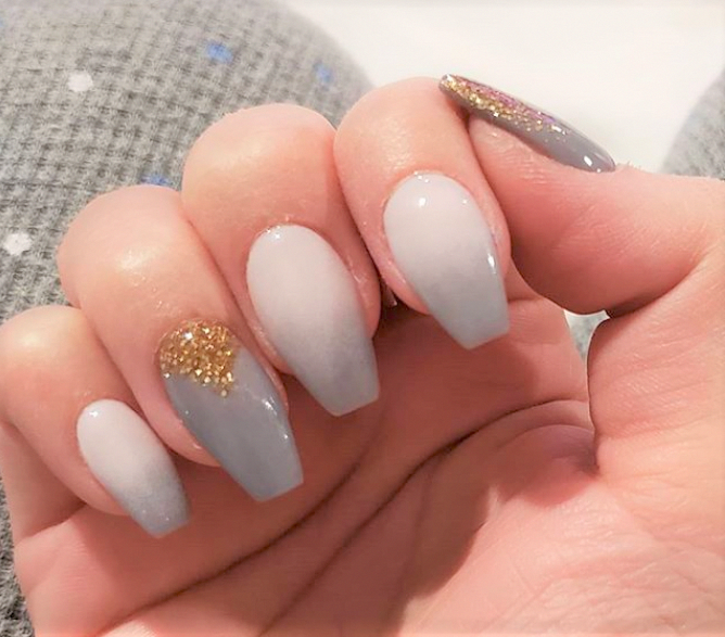 Pin by Adanne Eze on Nail designs in 2020 | Powder nails ...