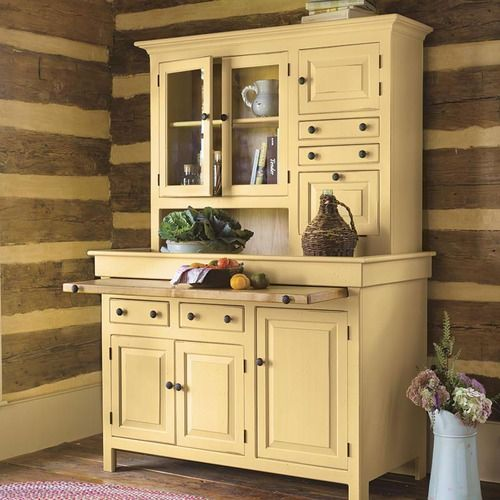 Southern Pine Hoosier Cupboard Home Decor Antique