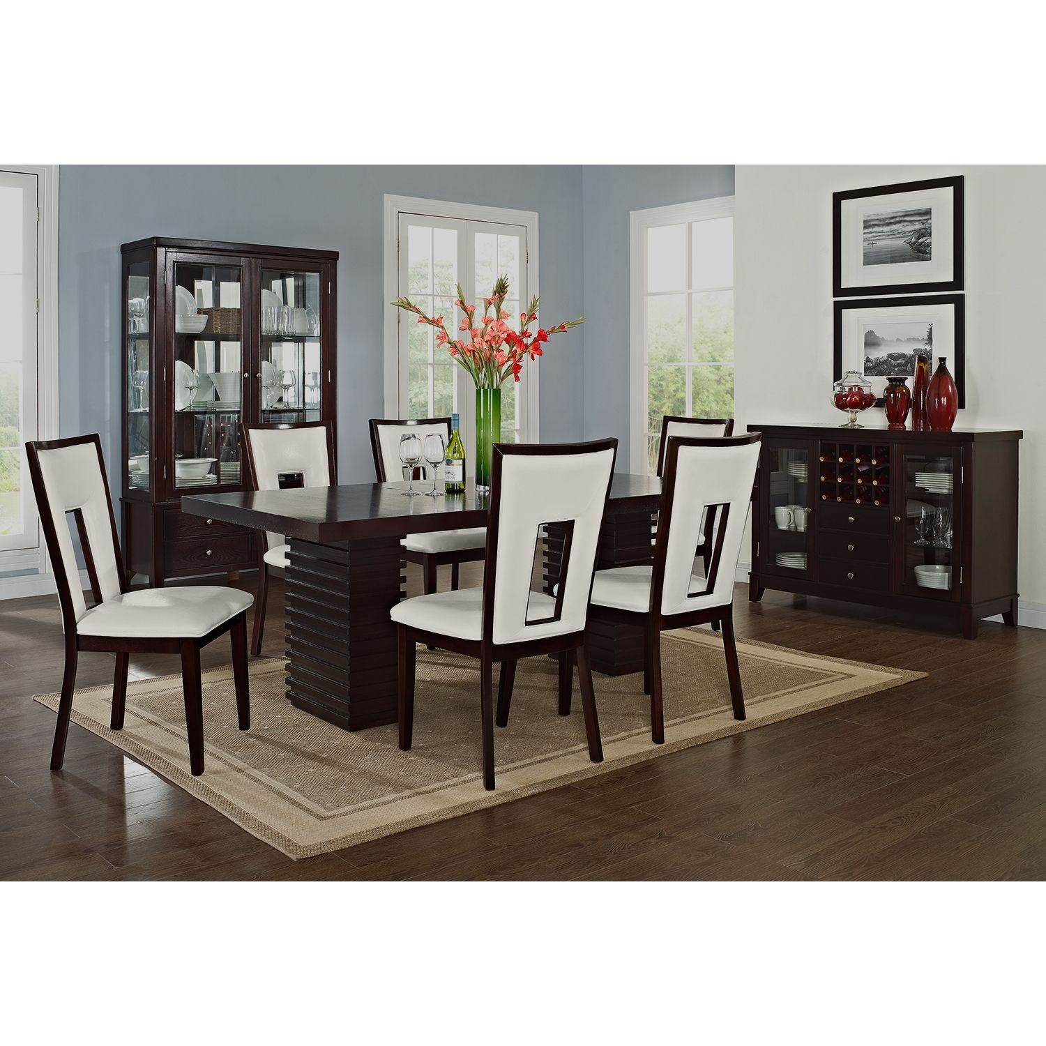 Paragon Madera II 7 Pc Dining Room
