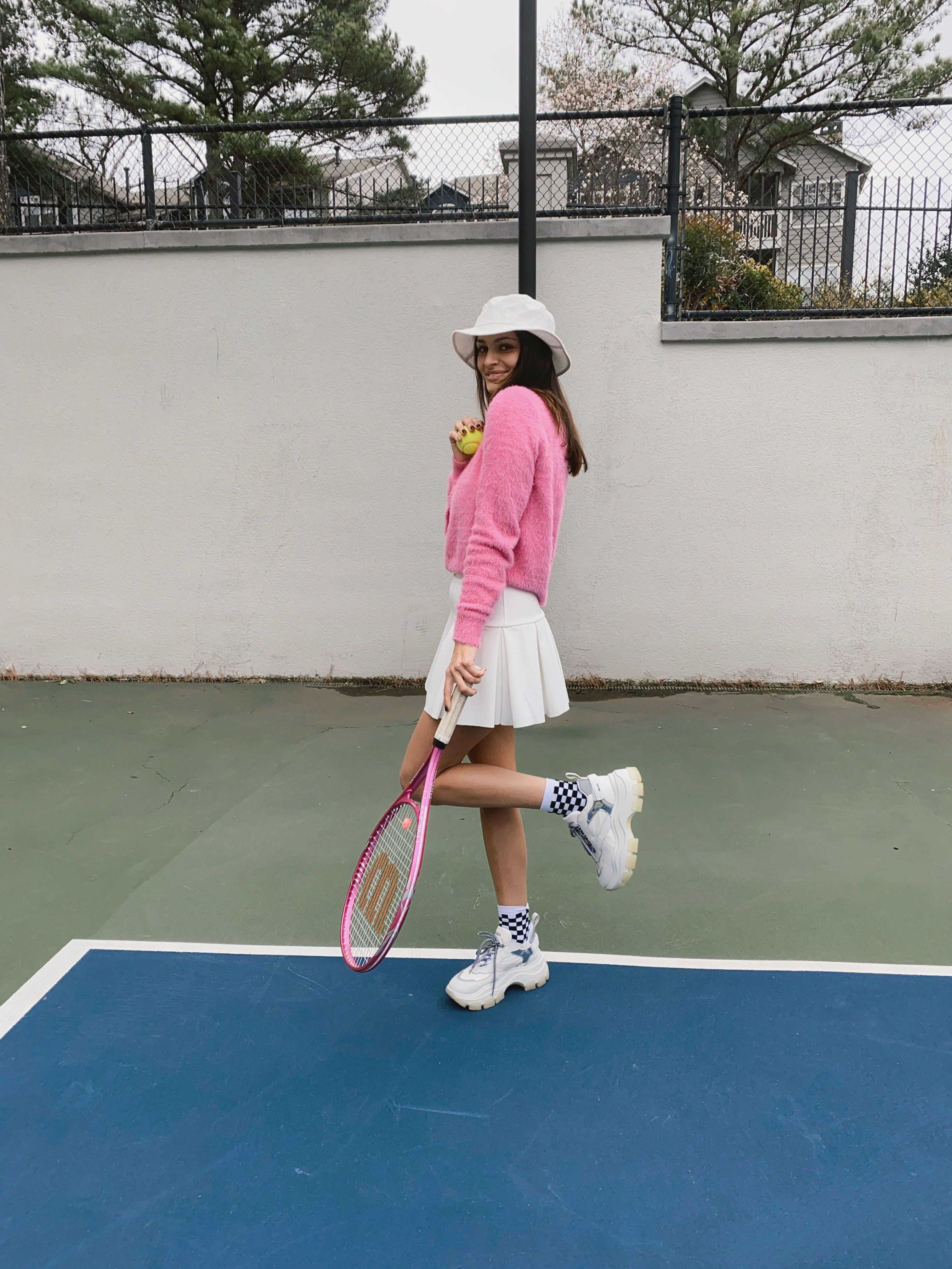 Tennis Outfit Spring Outfit Inspiration In 2020 Tennis Outfit Women Tennis Clothes Tennis Skirt Outfit
