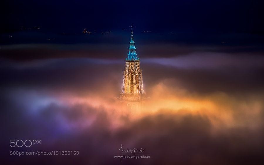Toledo City Foggy Night by jmgcia