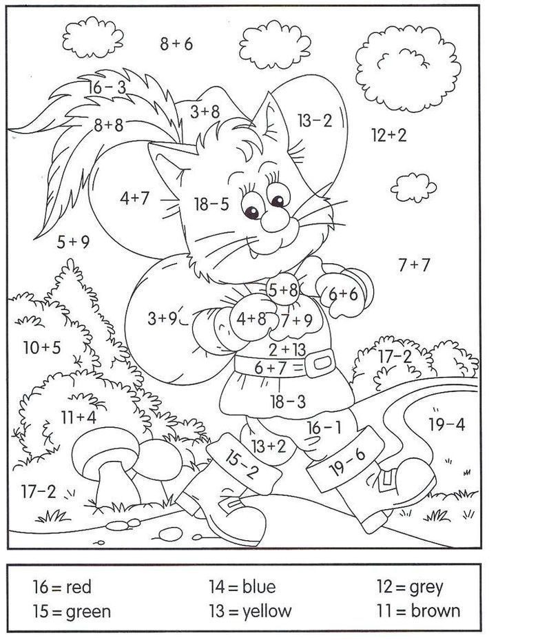 1st Grade Math Worksheets Addition 001 In 2020 Math Coloring Worksheets Addition Coloring Worksheet 1st Grade Math Worksheets