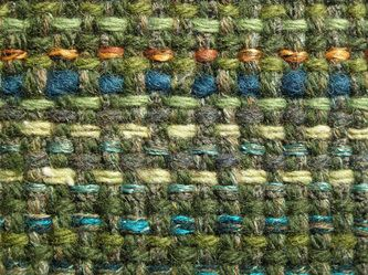 Nice colour interplay between warp and weft