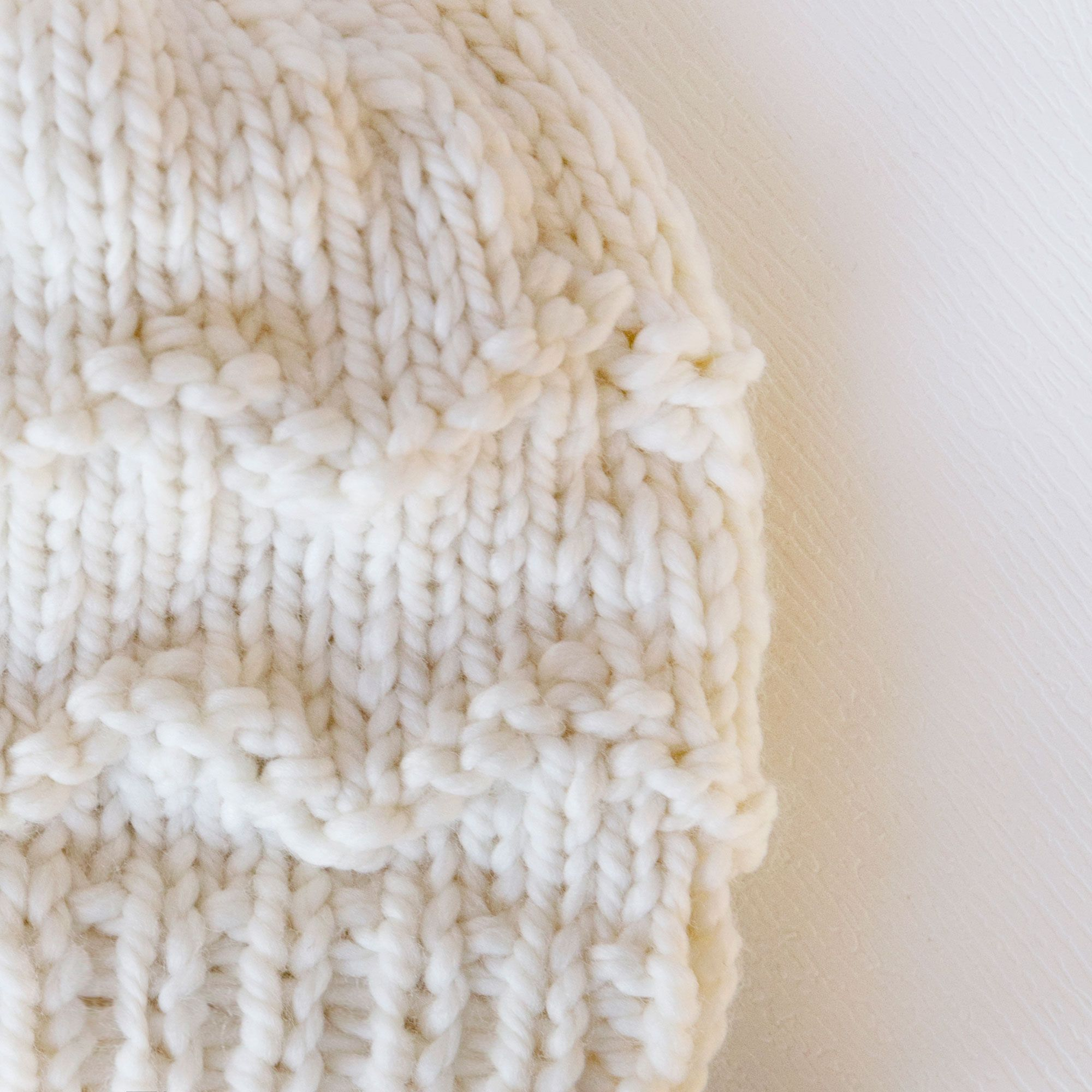 The Coziest Winter Hat Knitting Pattern | Knit | Pinterest