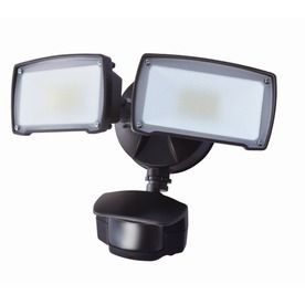 Utilitech pro 180 degree 2 head bronze led motion activated flood utilitech pro 180 degree 2 head bronze led motion activated flood light aloadofball Image collections