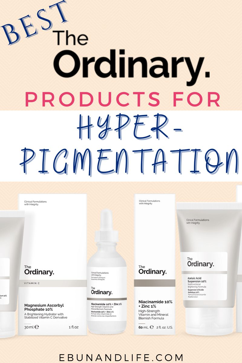 The Ordinary Skincare Routine for Hyperpigmentation in ...