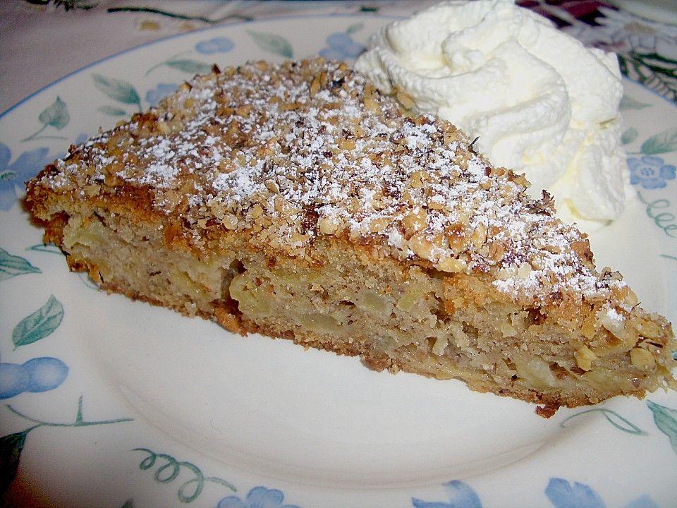 Apfel - Zimt - Nuss - Kuchen von elwira | Chefkoch