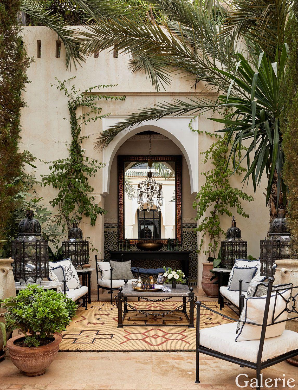 Inside The Bulgari Family S Opulent Marrakech Riad Moroccan Interiors Moorish Design Moroccan Style Interior