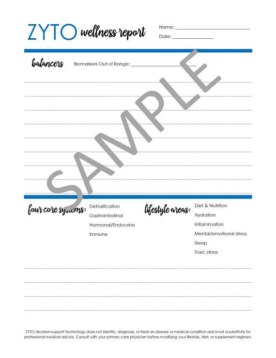 ZYTO Balance consult form Doterra Pinterest Pdf, Digital and