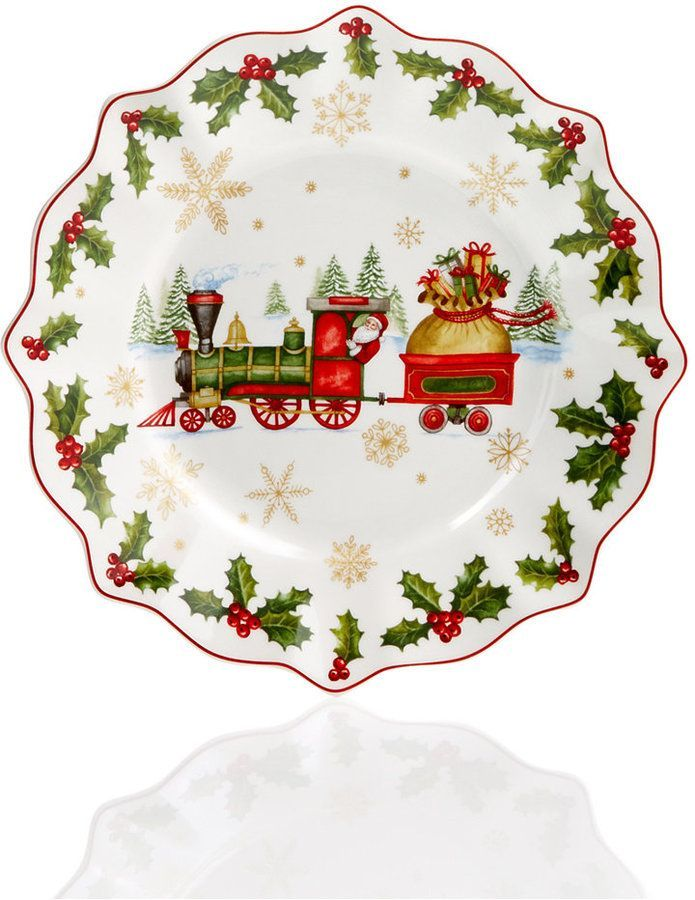 Villeroy Boch Christmas Ornaments And Decor Collection Reviews All Holiday Lane Home Macy S Christmas Dinnerware Christmas Ornaments Christmas Plates