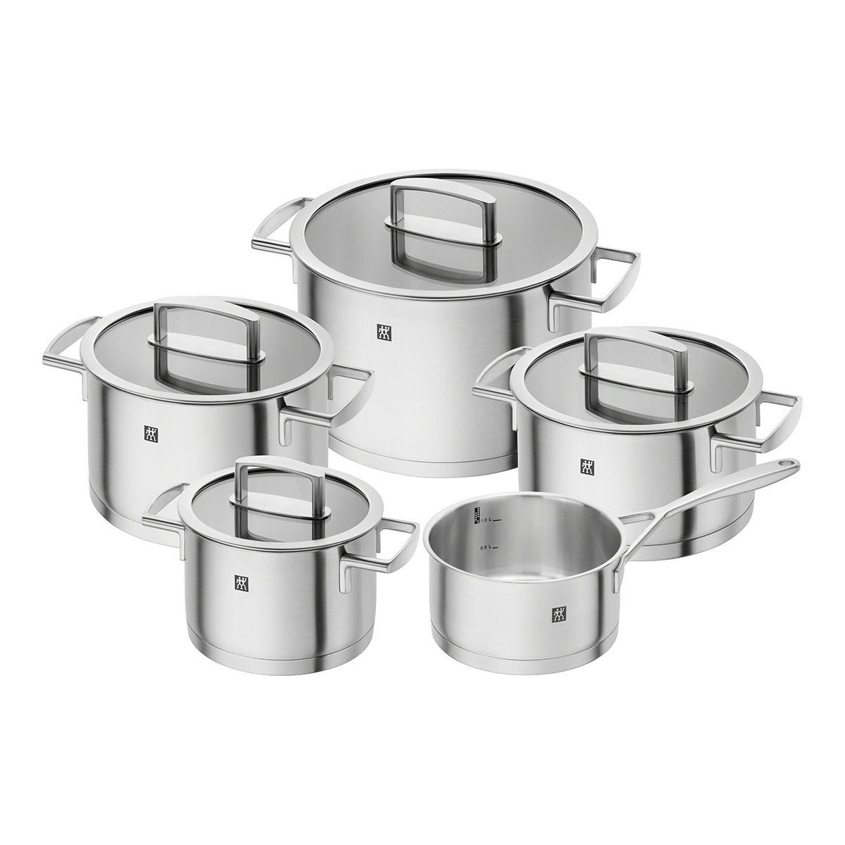 Batería de cocina de 5 piezas Vitality Zwilling J.A. Henckels ...