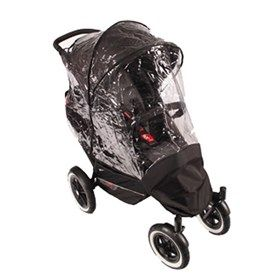 phil/&teds Voyager Pushchair Double Kit Storm Rain Cover