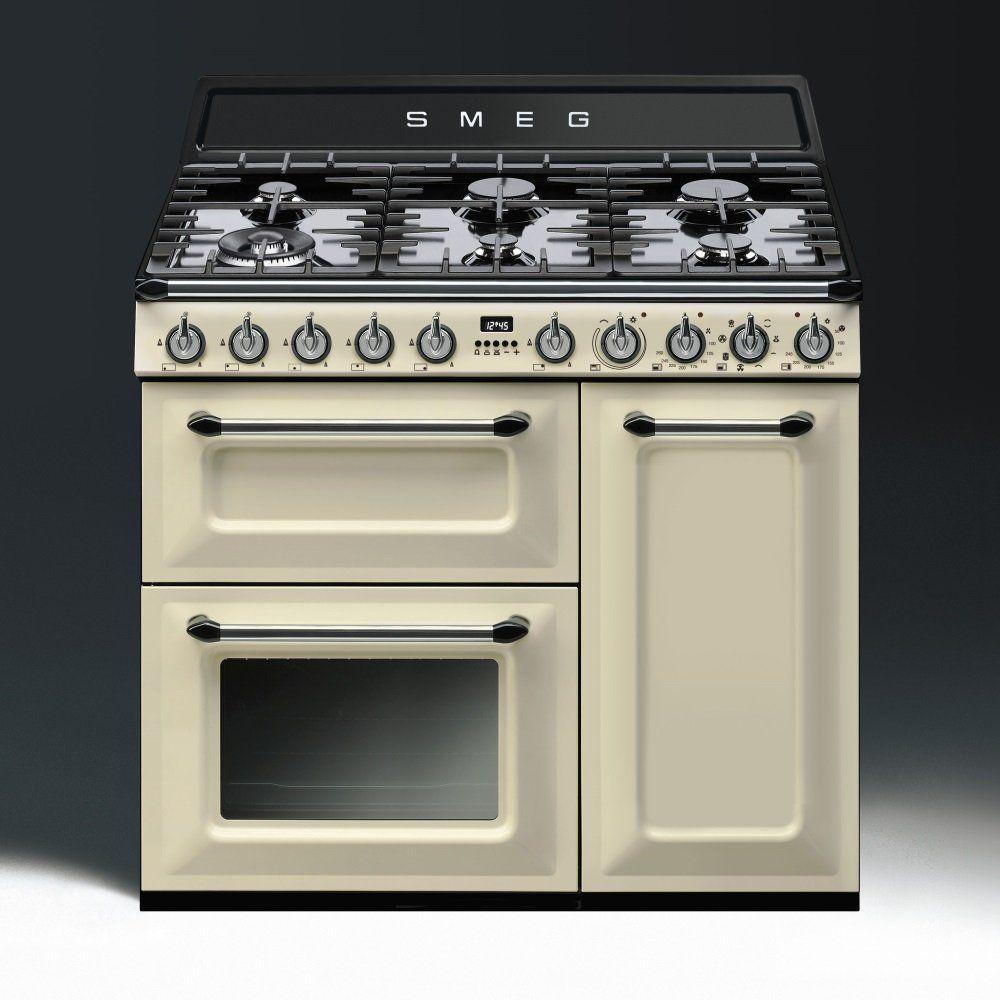 Smeg Victoria TR93P 90cm Dual Fuel Range Cooker - - Yahoo Search ...
