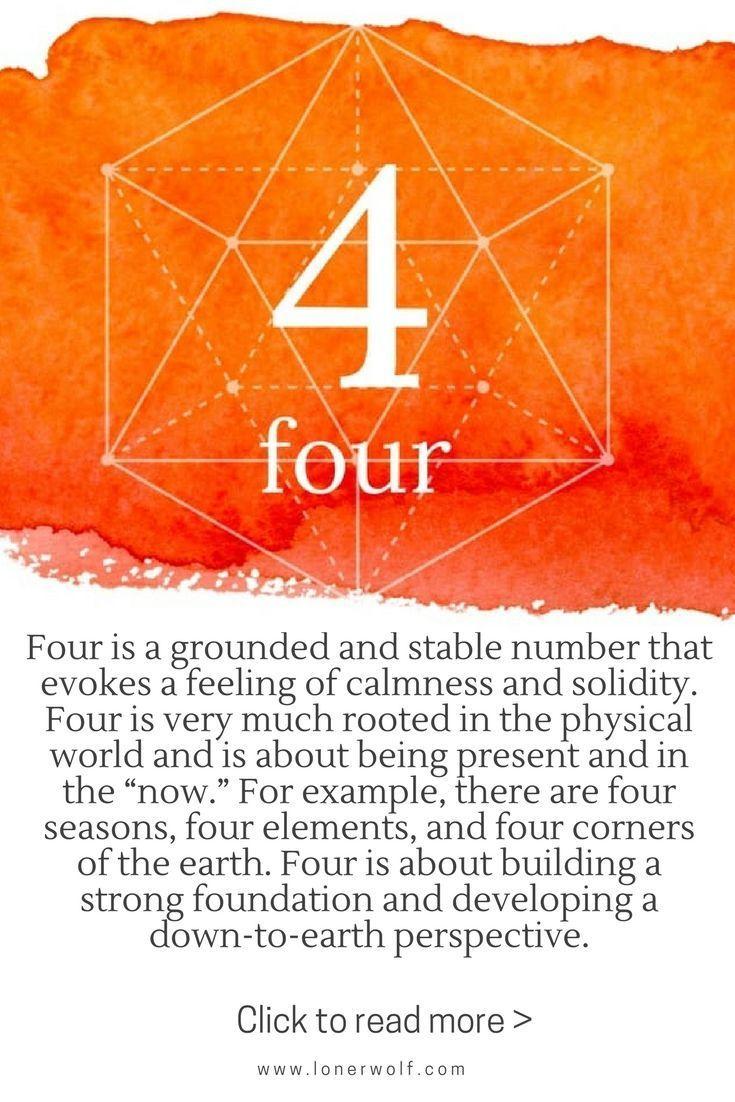 Bedeutung Der Zahl 4