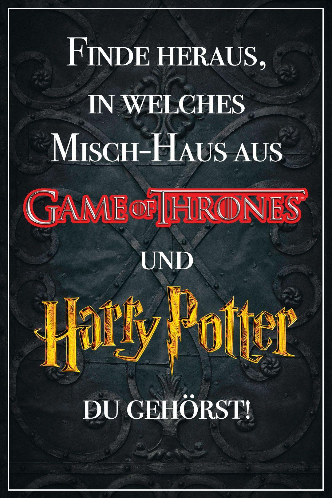 Dieses Quiz Verrat In Welches Mischhaus Aus Game Of Thrones Harry Potter Du Gehorst Game Of Thrones Quiz Harry Potter Welches Haus