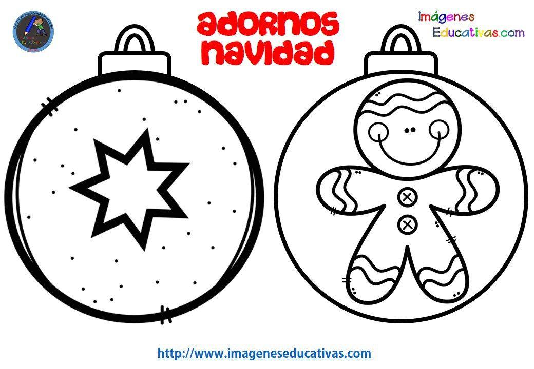 Disenos Para Colerear Bolas De Navidad Imagenes Educativas 2018 11 Decorar Bolas De Navidad Bolas De Navidad Actividades Navidenas Preescolares
