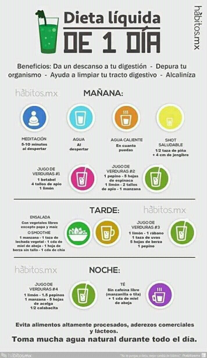 Pin de norma machicote en Receta - Dieta liquida, Dieta..