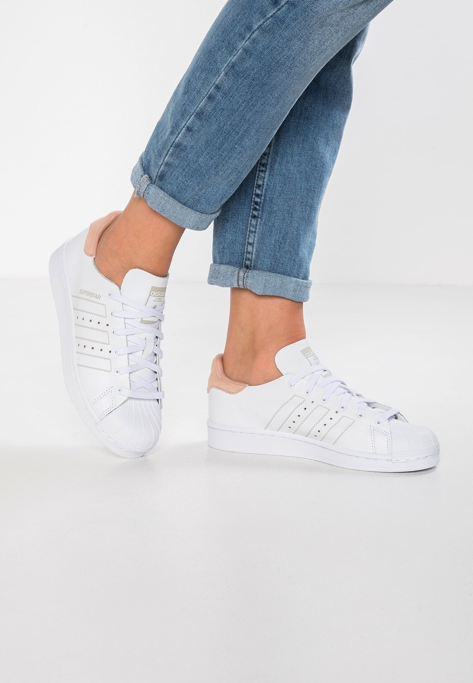 adidas Originals SUPERSTAR DECON - Sneakers laag - footwear white - Zalando.be