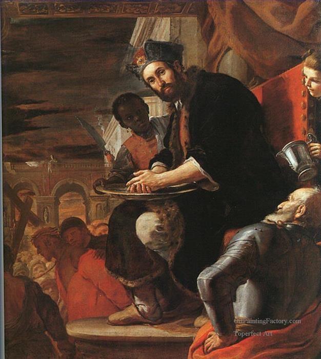 Pilate washing His Hands Baroque Mattia Preti