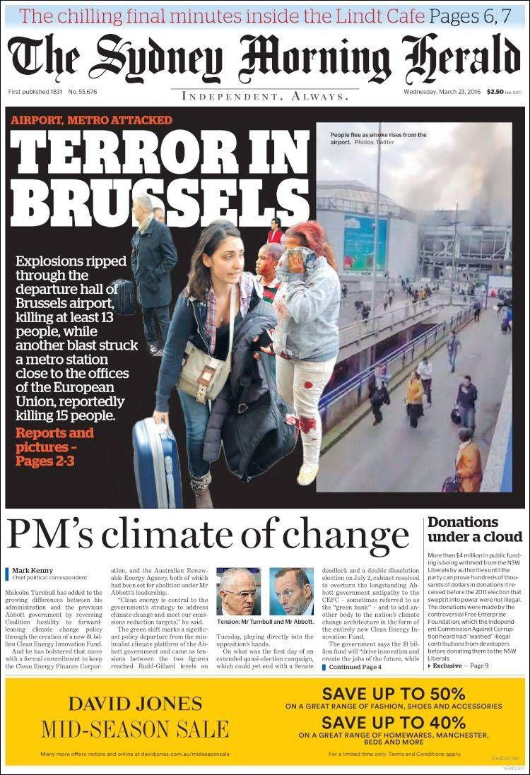 Newspaper The Sydney Morning Herald (Australia