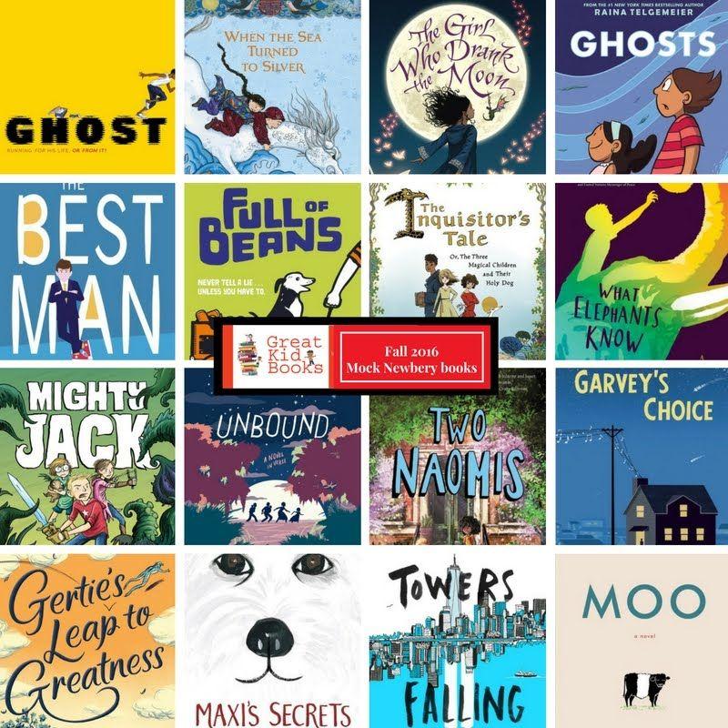 Great kid books mock newbery book club fall 2016
