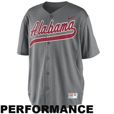 new product 47eda bccd5 Alabama Crimson Tide Nike College Baseball Jersey | Shopping ...