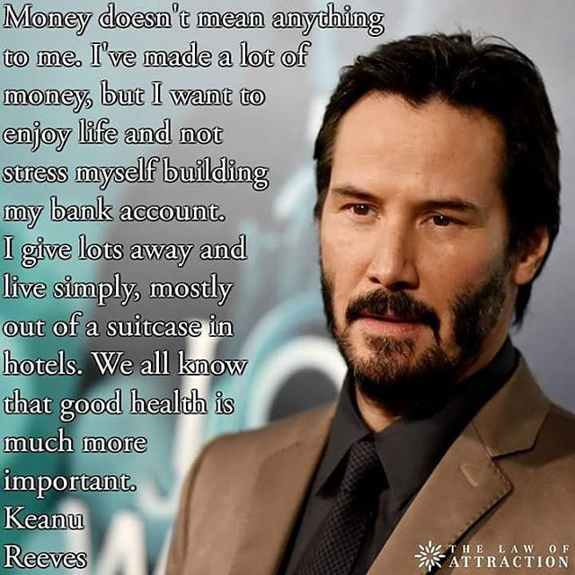 Keanu Reeves | Inspirational | Keanu reeves quotes ...