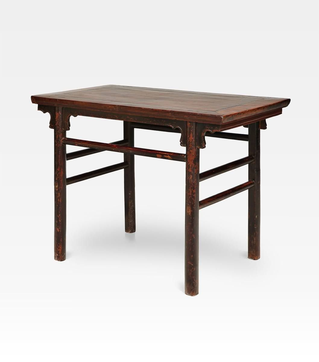 Antico tavolo cina tavolo consolle cinese dall - Consolle che diventa tavolo ...