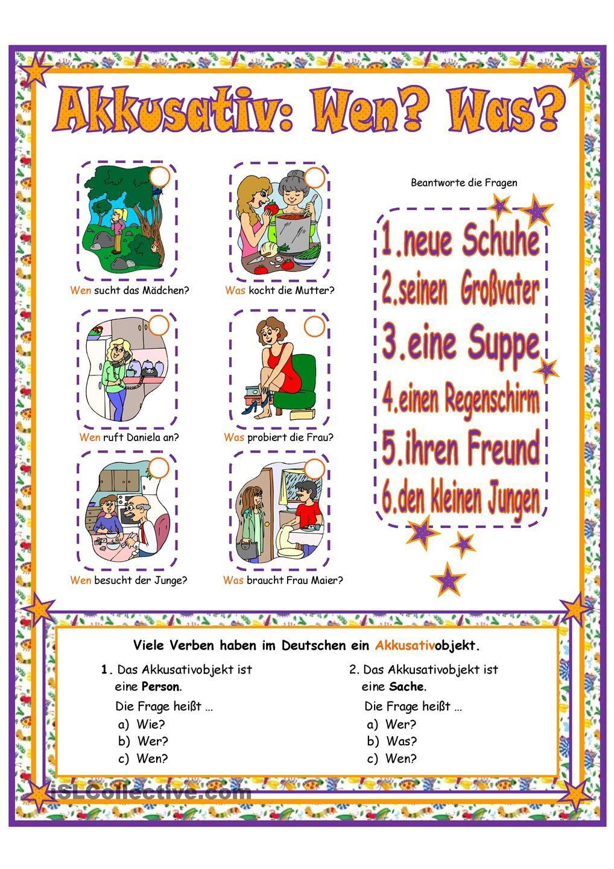 Pin by ADe on Deutsch, die Klasse, der Anfang | Pinterest | German ...