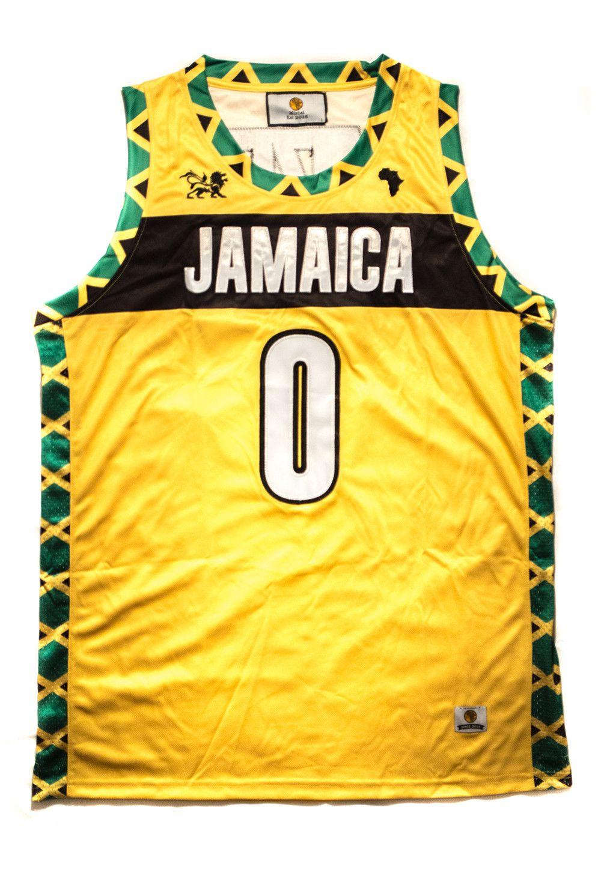 e0a25a924d87 Deluxe Jamaica Basketball Jersey - MiziziShop