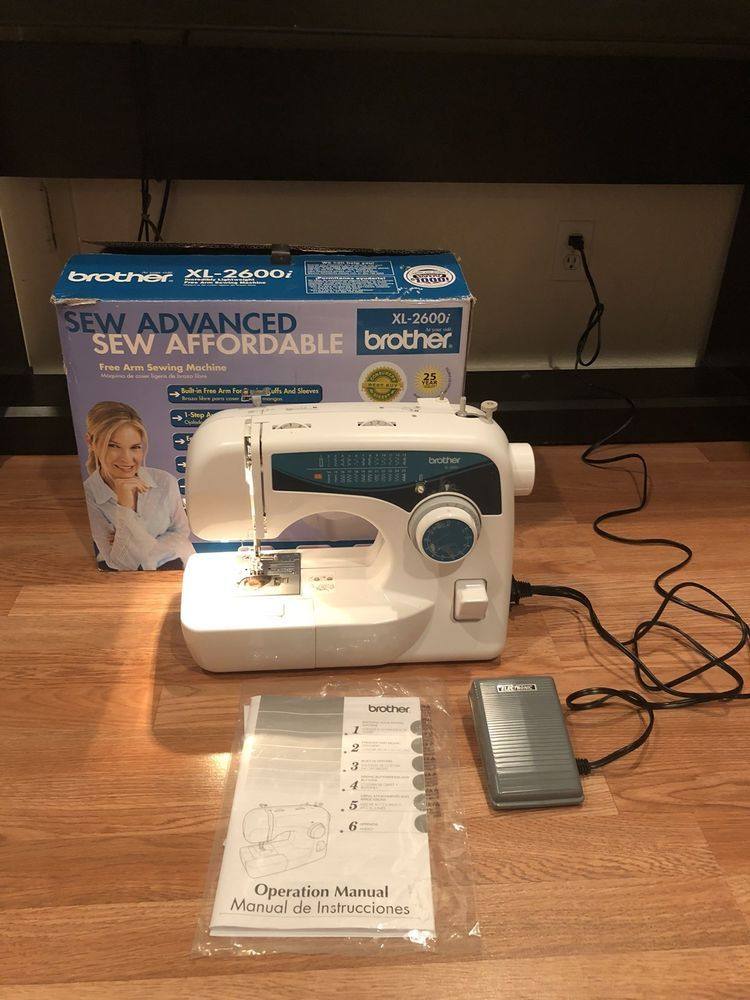 BROTHER XL40I Sew Advance 40Stitch FreeArm Sewing Machine XL Cool Brother Sewing Machine 2600i